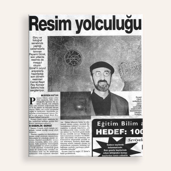 Resim Yolculuğu Türkiye Gazetesi