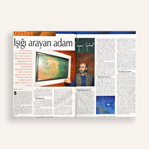 Işığı Arayan Adam Aksiyon Dergisi