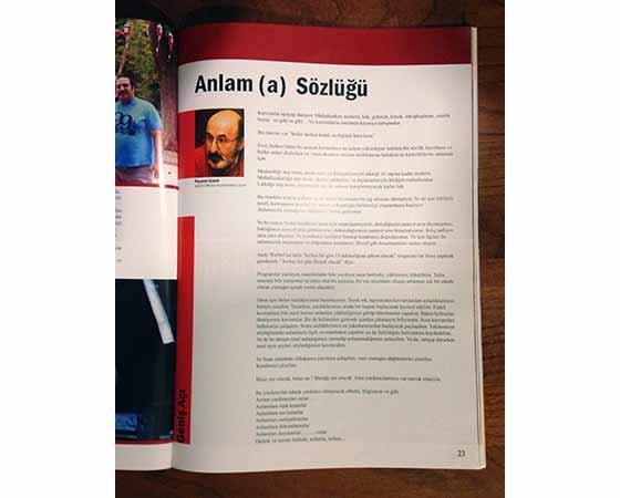 Anlam (a) Sözlüğü Tiyatro Dergisi