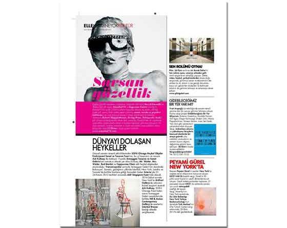 Peyami Gürel New York'ta Elle Dergisi