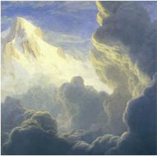 Arkadaki bulutlar ve Zirve