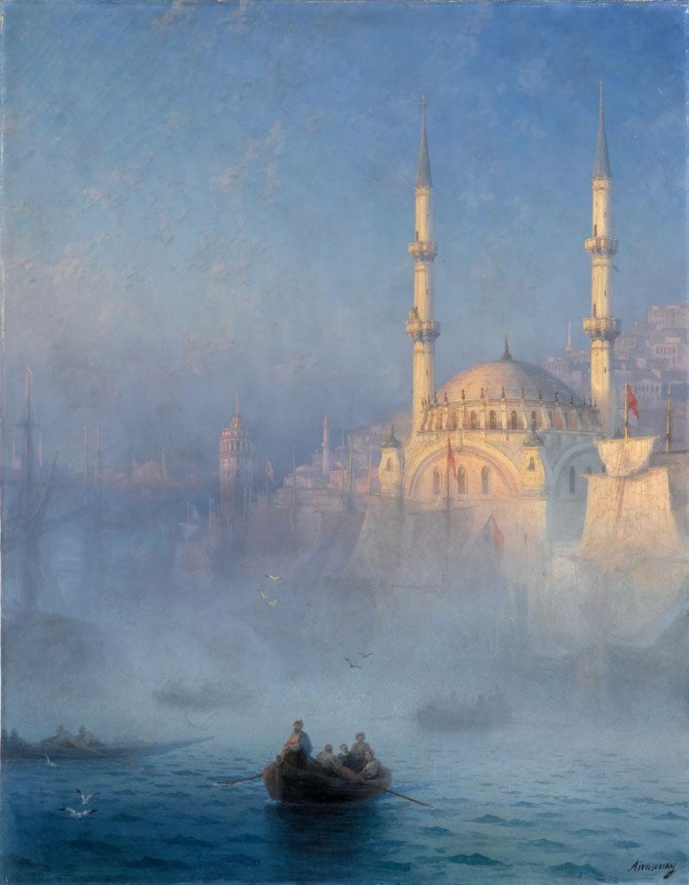 Aivazovsky Istanbul'da Kayıklar