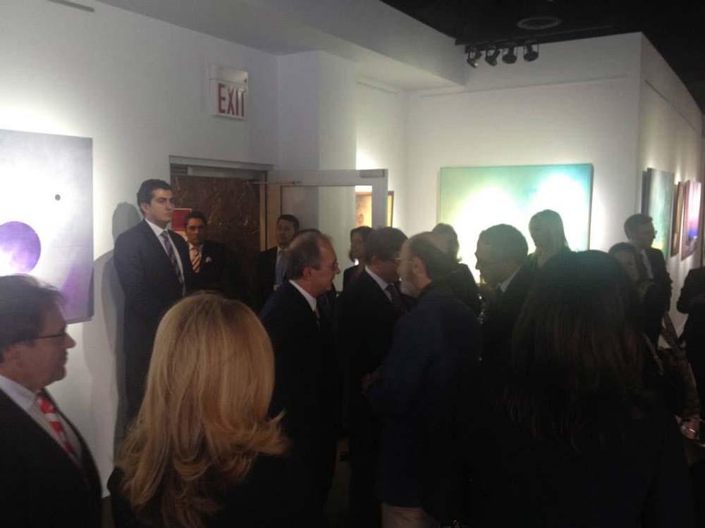 2013 New York Sergi Açılışından Kareler