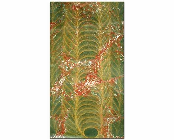 peyami gürel gürel ebrusu özgün kompozisyon No 14