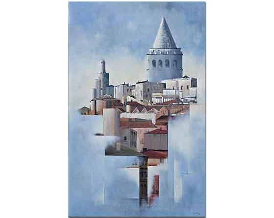 peyami gürel galata kulesi kompozisyon